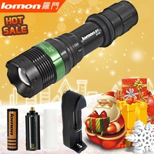 Tactical Flashlight 300 Lumen Flashlight Vibrator Wide Angle Led Flashlight