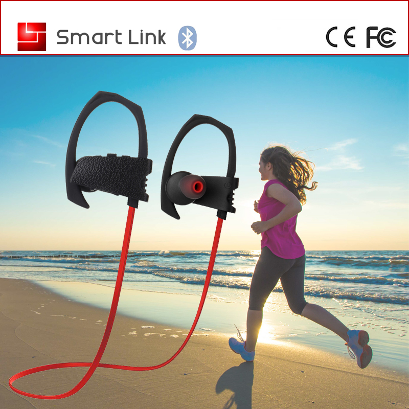 New Coming In ear earhook sports Bluetooth Headset both ear for All Computers and Phones