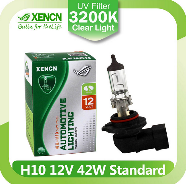 XENCN <strong>H10</strong> 12V 42W 3200K Clear Series Original Car <strong>Headlight</strong> OEM Quality <strong>Halogen</strong> Bulb Auto Fog Lamps
