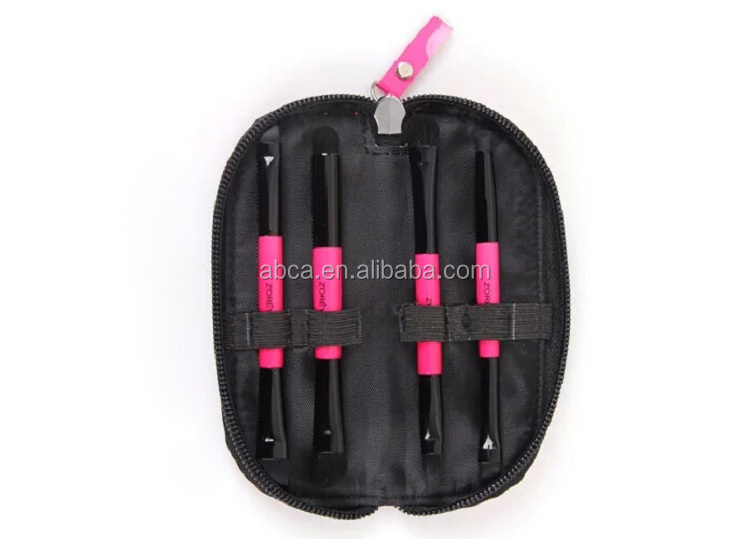 Kubiki dual 4pcs travel brush best sale