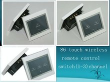 86 touch wireless remote control switch (1-3)channel to be selected