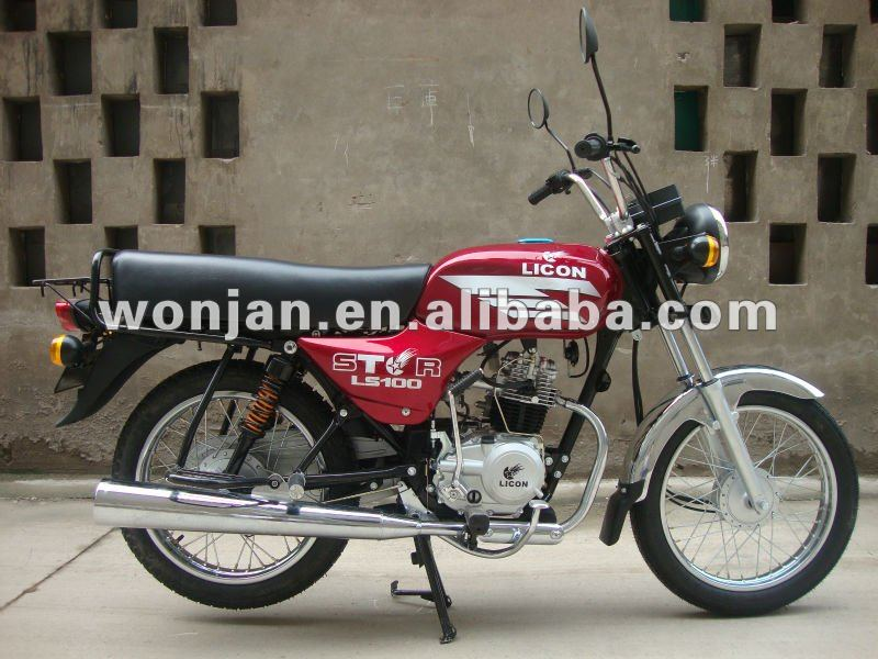 Boxer motorcycle with100CC Engine