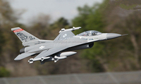 RC F-16 Fighting Falcon jet engine model