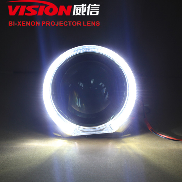 Car Accessories China Vision Hid Bi-xenon Projector Universal H4 Xenon Hid Kit With Tiguan Shroud