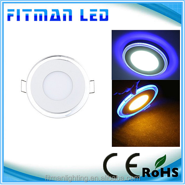 2014 New product 3colors led light panel glass from led light panel zhong shan manufactures
