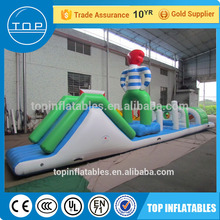 Professional inflatable iceberg toy water play equipment aqua park for fun