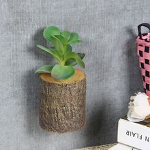 Best seller succulents stump series artificial mini potted plant