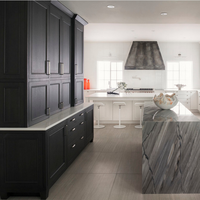 America Cherry Solid Wood Kitchen Kitchen
