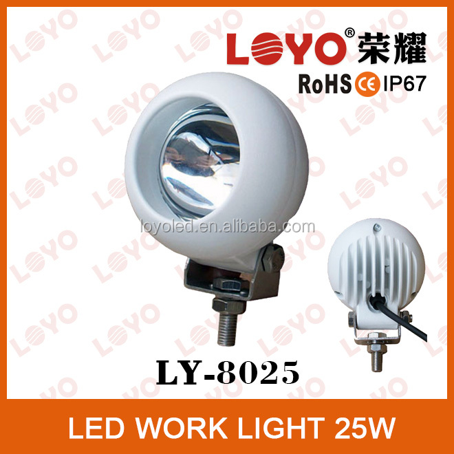 Hot sale!!!25W off road led work light made in China