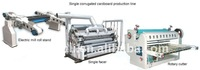 Single Facer Corrugated Paperboard Production Line/Carton Making Machine