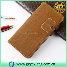 High Quality Mobile Phone PU Leather Folio Flip Cover Case For Vivo Y31 Wallet