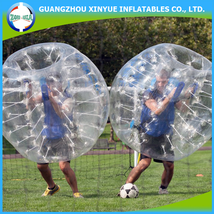2016 Hot sale inflatable bubble ball for football