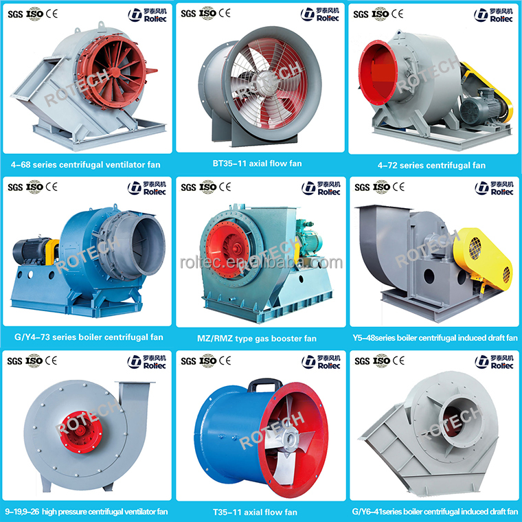 9 different models Industrial air extractor 500 cfm exhaust fan