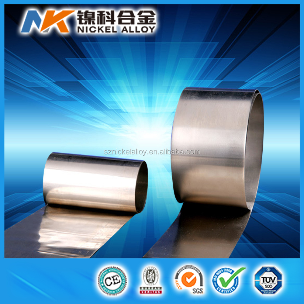 stable resistance alloy band constantan tape cuni40