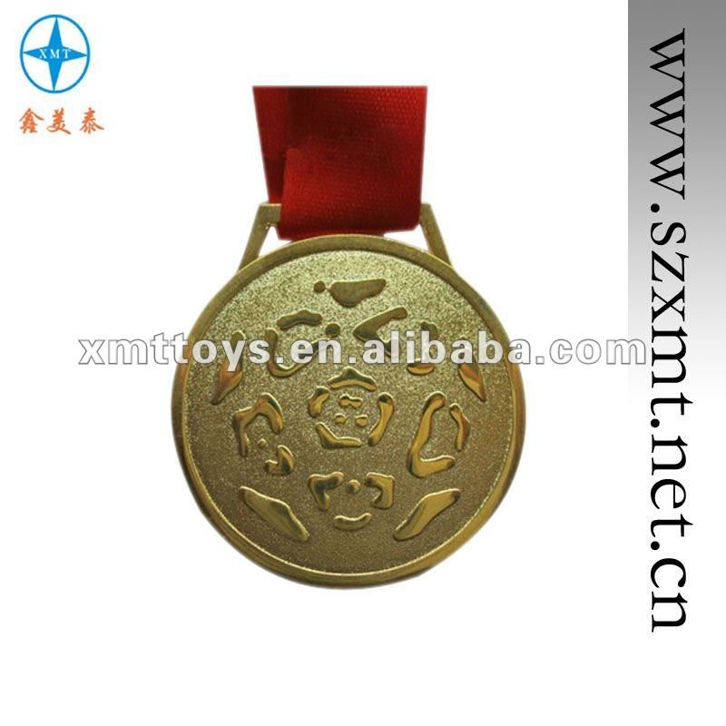 2012 innovative designed metal medal with ribbon