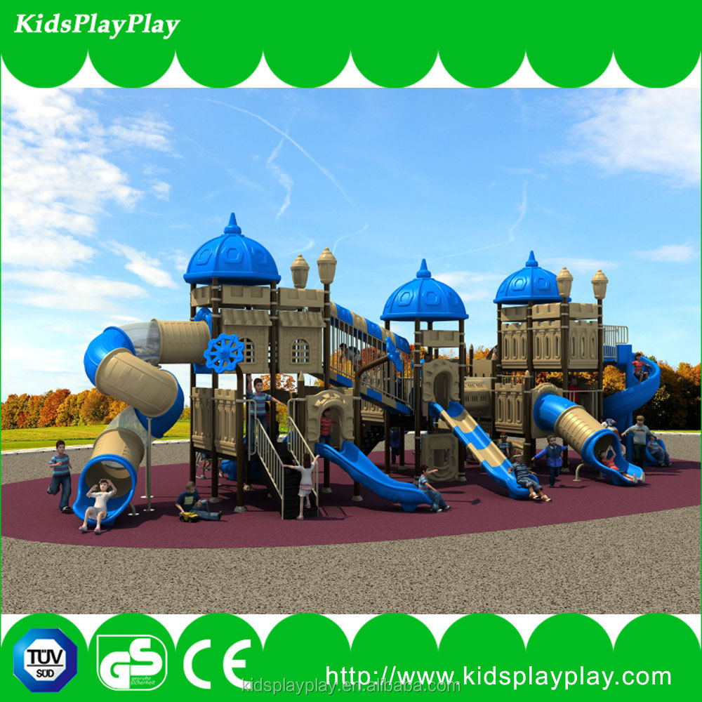 Plastic Slide Type Plastic Swing and Slide Kids Outdoor Playground Set