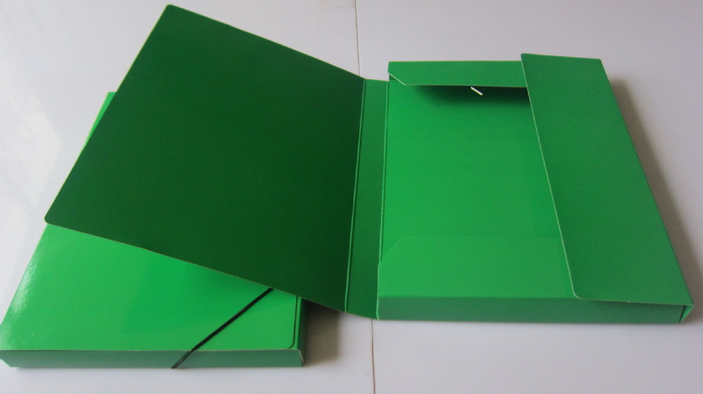 how to make file folder with chart paper