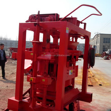 Small manual cement paving block making machine hot sale in ethiopia