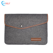 Unique Design Computer Bag Carrying Felt Laptop Bag