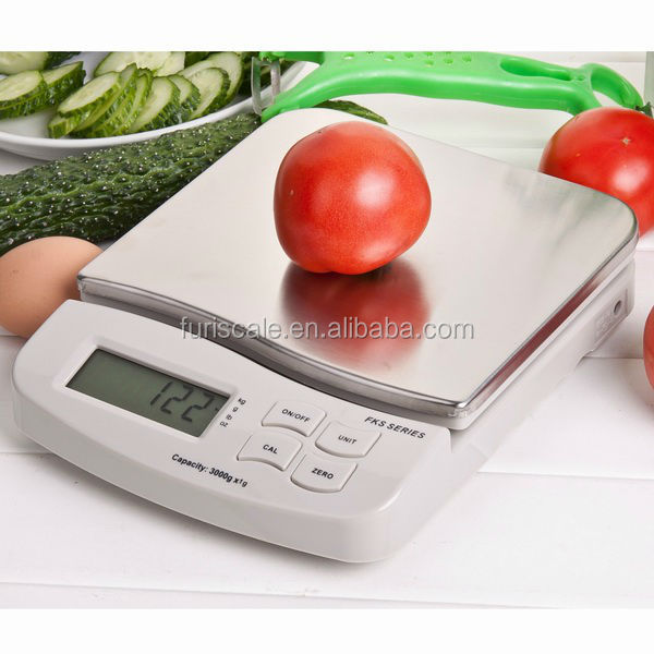 Furi FKS new digital food weighing scale Home use LCD compact Blue tooth scale 5kg