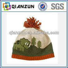 Children's Pom Pom knit Hat