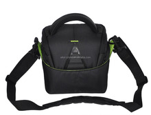 Outdoor Lightweight waterproof fabric black bag dslr photo camera bag