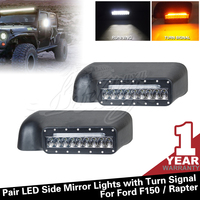 27w Car Led Lighting Pair Led Side Mirror Lights with Turn Signal for Ford F150 / Raprer