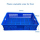 600*390*140mm Plastic Vegetable Basket
