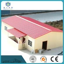 government settlement pre fabricated steel building SGS CE certified box type house designs