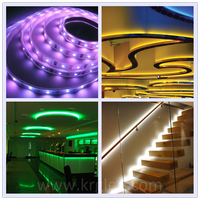 Professional ultra bright led rigid strip light narrow dream color led strip