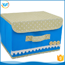 Wholesale Non Woven Cheap Fabrics Storage Bin With Lid