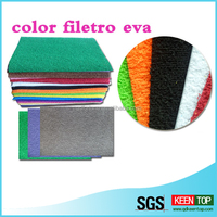 printed embossing laminated color EVA sheet /roll