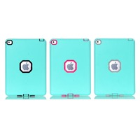 Newest 3 in 1 Hybird ShockProof Silicone Back Case Cover for iPad Mini 2 3 4