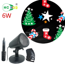 Outdoor Christmas decorations project light waterproof IP44