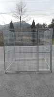 2016 new design outdoor chain link dog kennel