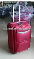 2012 trolley travel luggage with PVC COVER