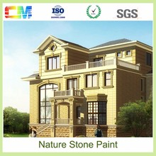 Waterproof fire retardant water based mould proofodor free waterbased liquid spray exterior natural stone wall paint