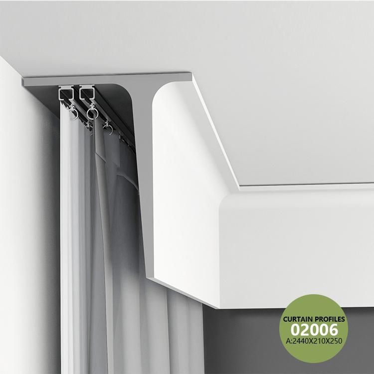 High Grade Gypsum Curtain Box Profiles Buy Plaster