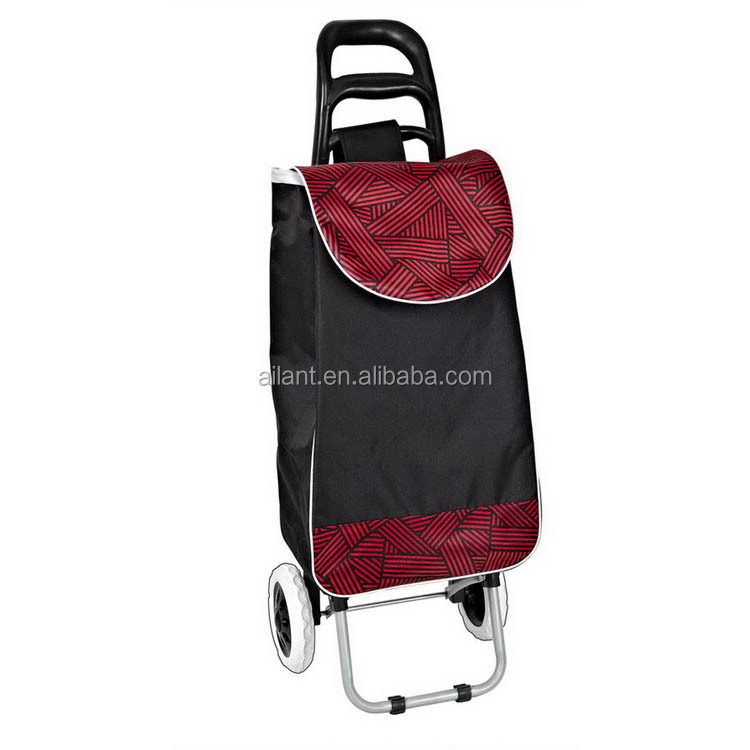 Express alibaba sales polyester 600D shopping trolley alibaba sign in