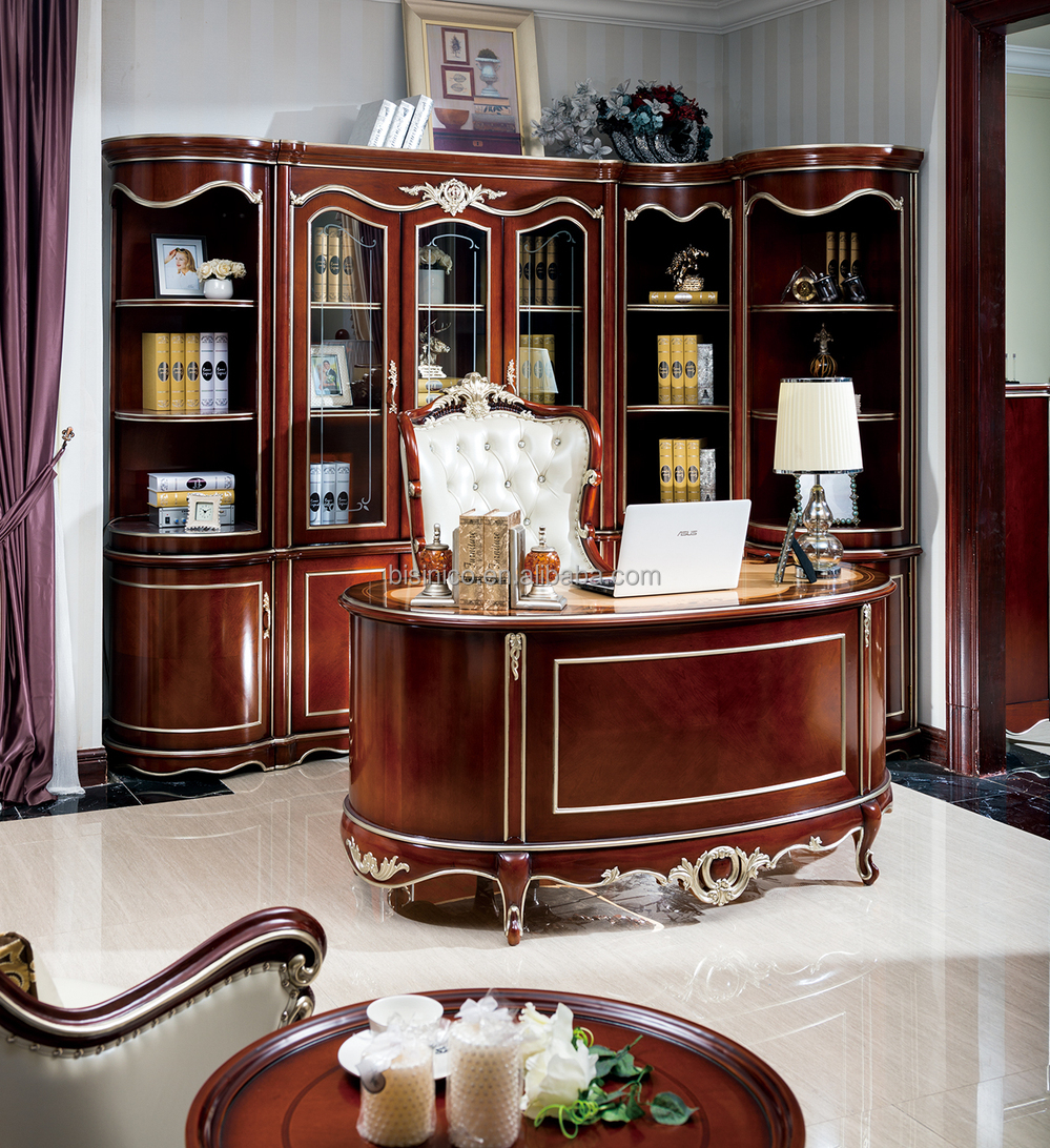 French Baroque Style Luxury Executive Office Desk,European ...