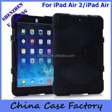 China Manufacturer For iPad Air 2/iPad Air Shockproof Silicon Heavy Duty Silicon Case