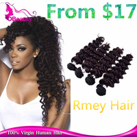 Wholesale 100 % Brazilian Human Hot Heads Deep Wave Hair Extension