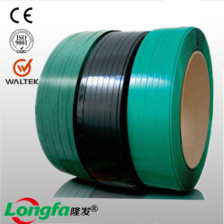 High performance Color green polyester pet strapping roll pet strap