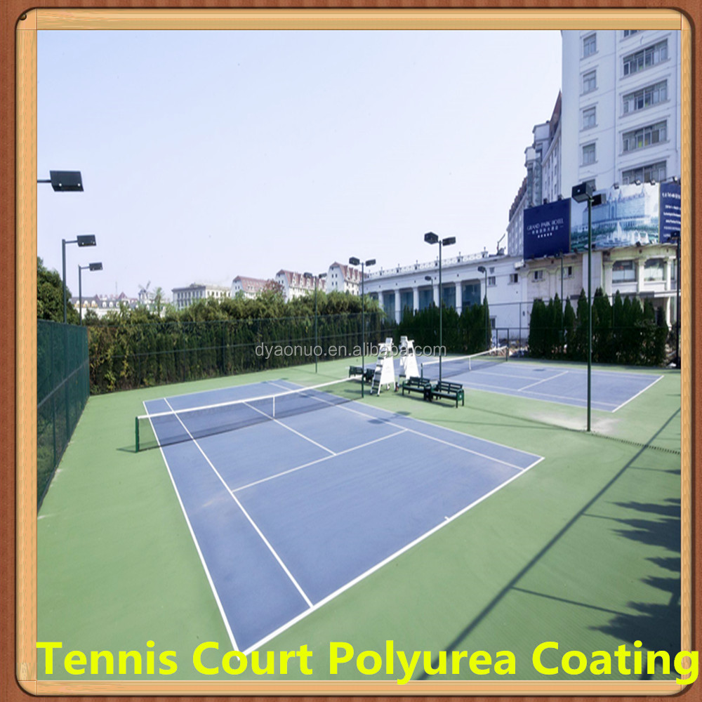 Spray Polyurea for Tennis Court Waterproof Epoxy Coating