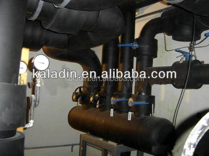 thermal pipe foam insulation for steel copper plastic pipes lagging wrap