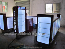 Hot sale cellphone kiosk, cellphone kiosk design, phone cases kiosk