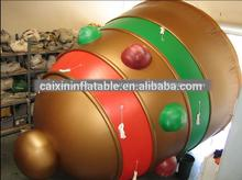 inflatable floating advertising Christmas bell balloon for sale