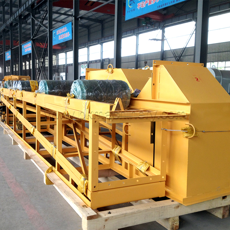 Henan pingyuan stainless steel belt conveyor system