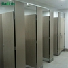 Commercial Compact Laminate Cubicle System Toilet