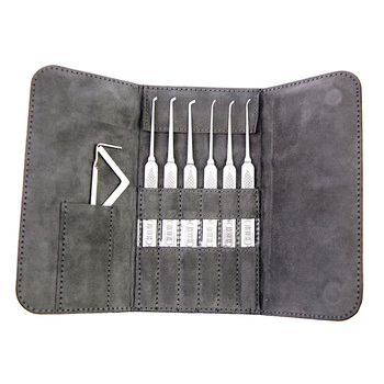 HUK 6 Piece Hook Pick Set - Premium Quality
